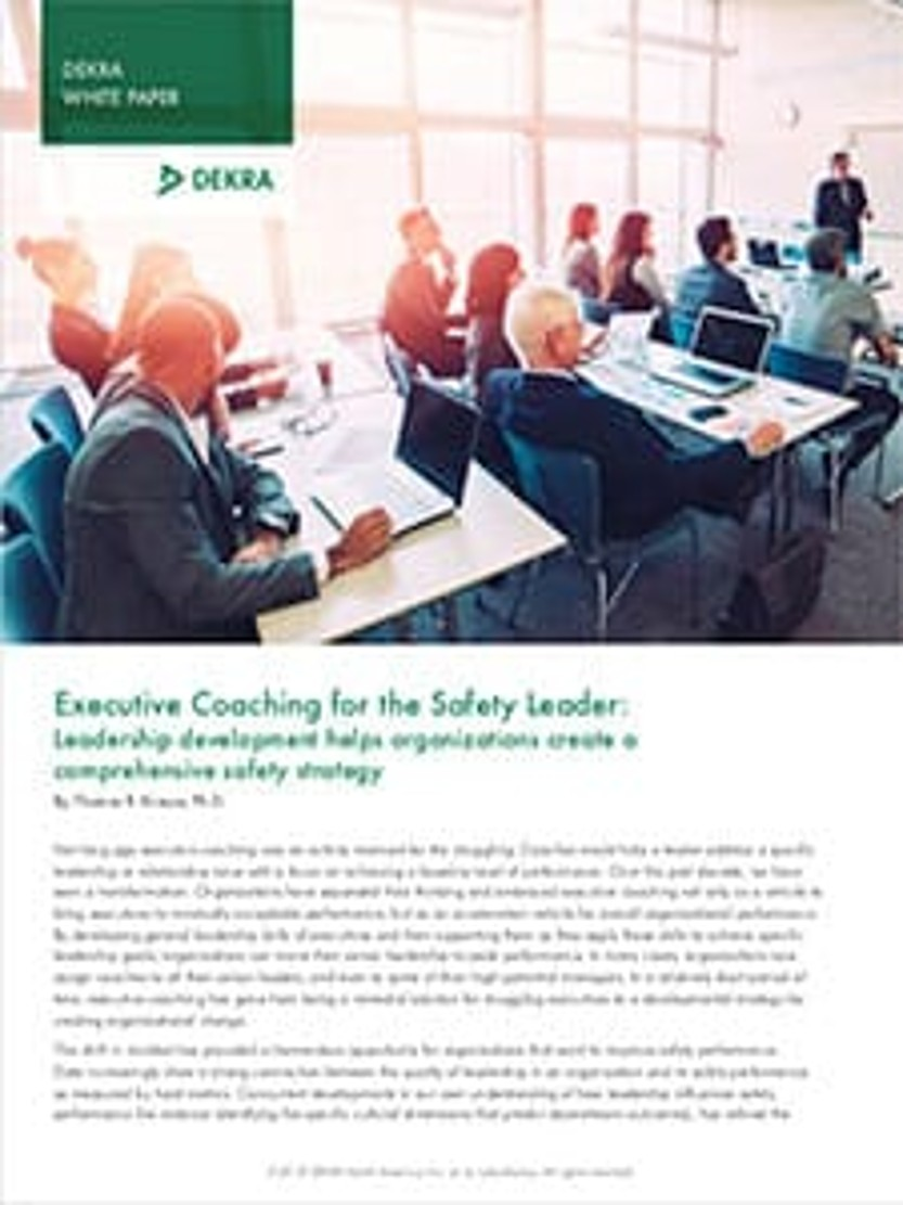 Executive Coaching for the Safety Leader