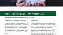 Process Safety Begins with Process Data