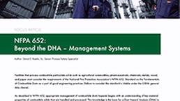 NFPA 652 Training Course - DEKRA Process Safety