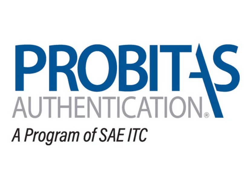 Certified by Probitas Authentication