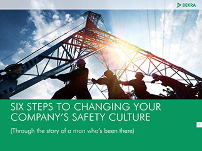 Six Steps to Changing Your Company's Safety Culture