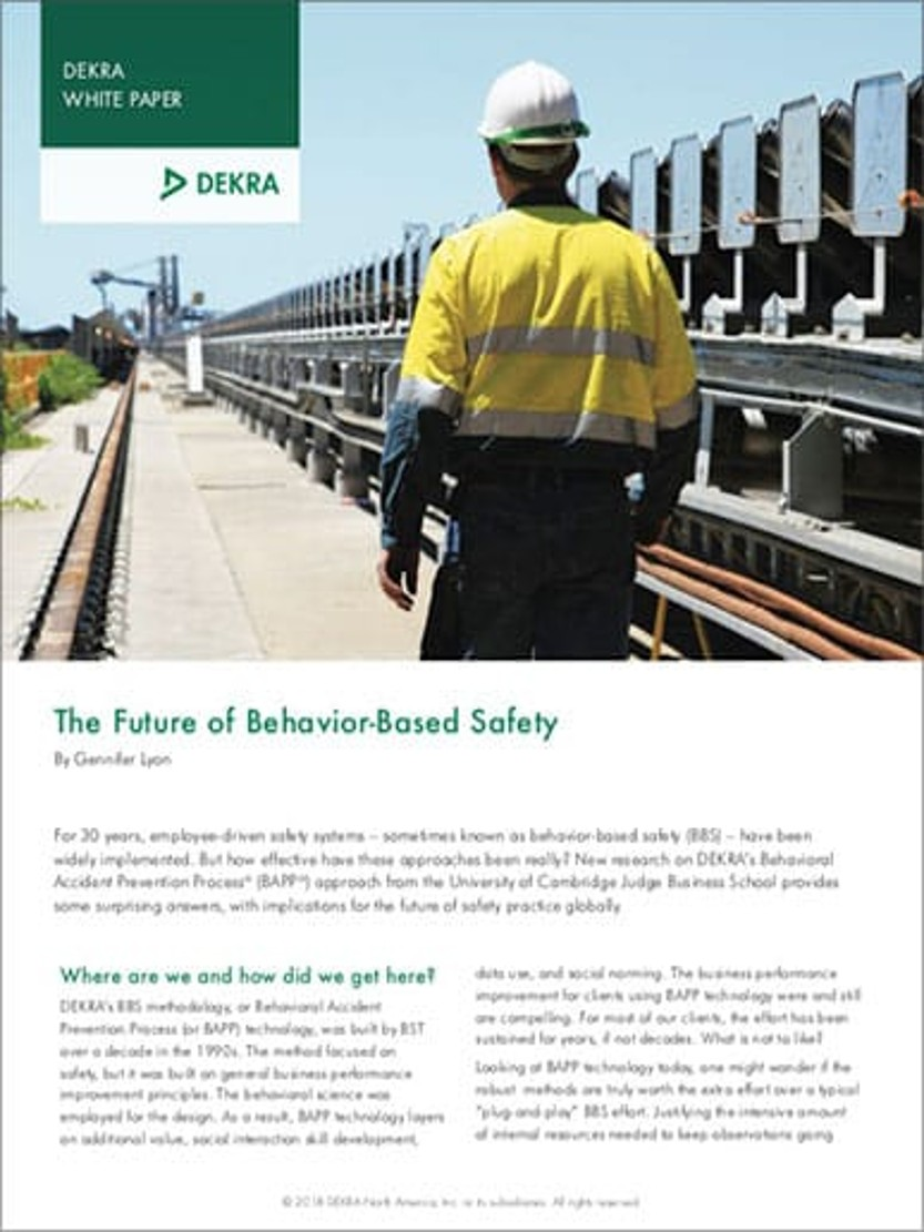The Future of Behavior-Based Safety